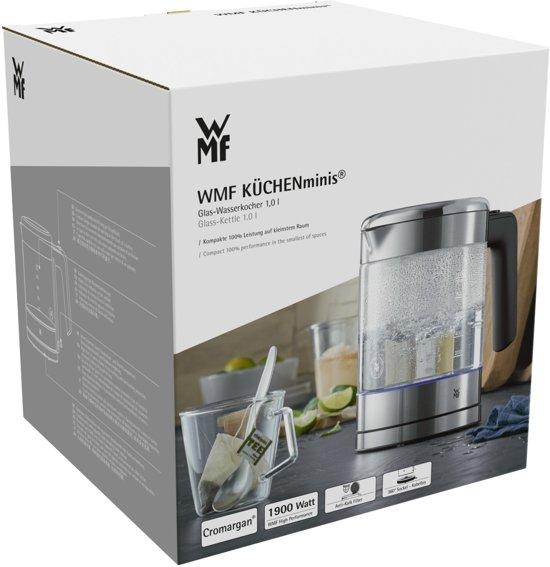 WMF KITCHENminis Glazen Waterkoker 1 L