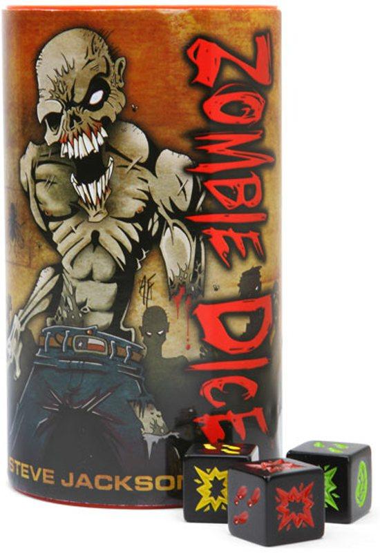 Zombie Dice - Dobbelspel - Engelstalig