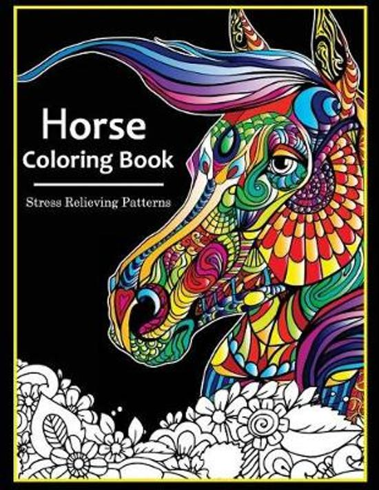 Bol Com Horse Coloring Books For Adults Horse Coloring Books For