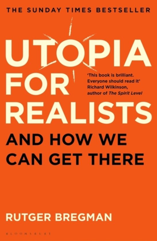 Boek cover Utopia for Realists van Rutger Bregman (Paperback)