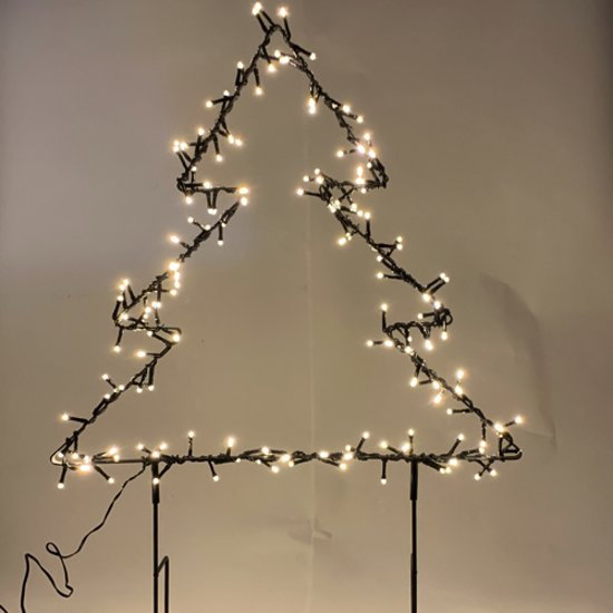 Bol Com 50cm Kerstboom Figuur Met 150 Lichtjes Figuur Kerstboom
