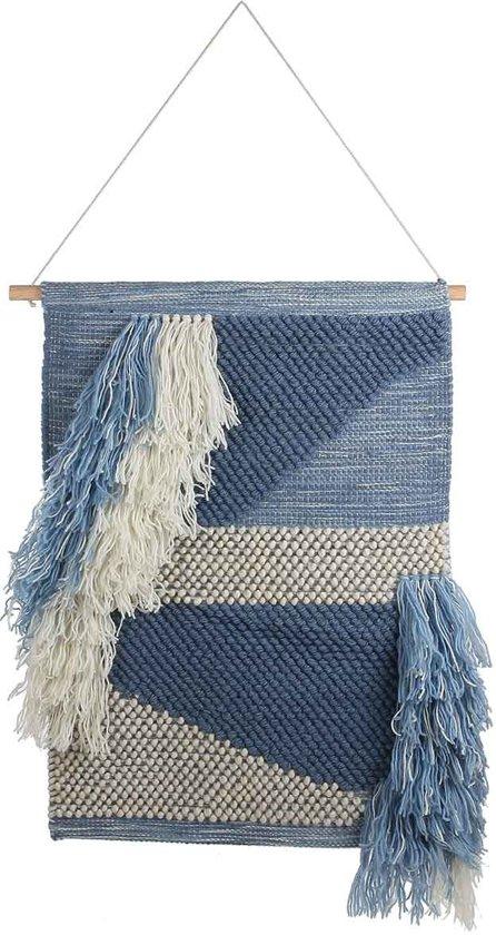 Casa Vivante dacia muurhanger blauw maat in cm: 60 x 100