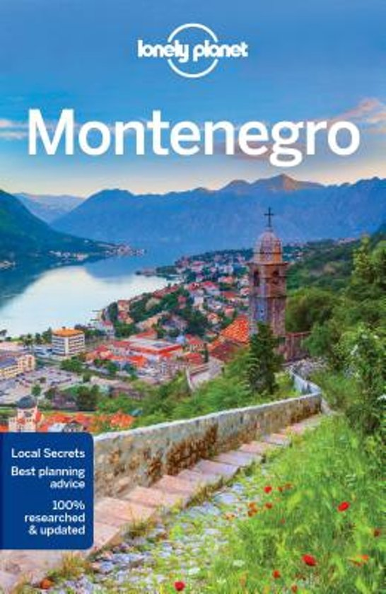Reisgids: Lonely Planet Montenegro cover