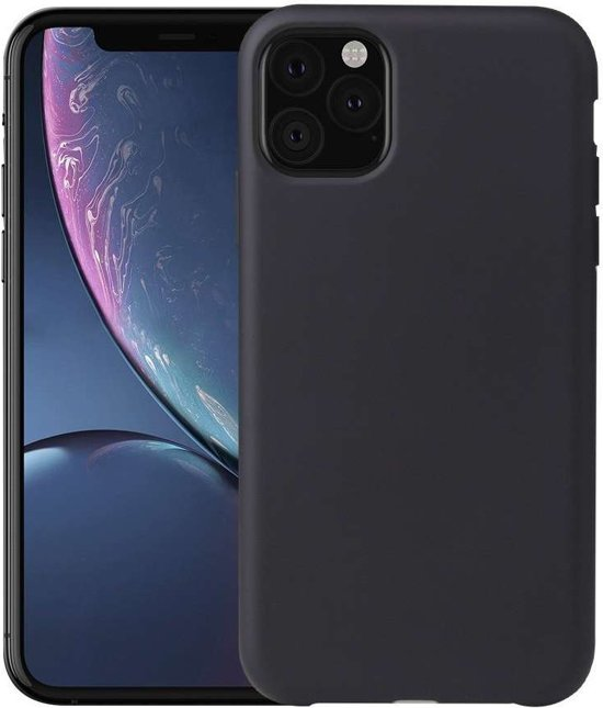 Apple iPhone 11 Pro Soft TPU case - Zwart