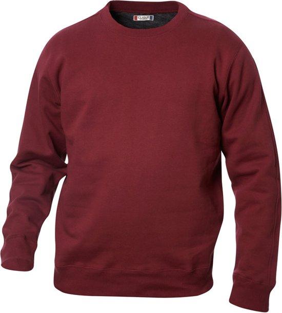 Canton sweatshirt 280 g/m2 bordeaux s