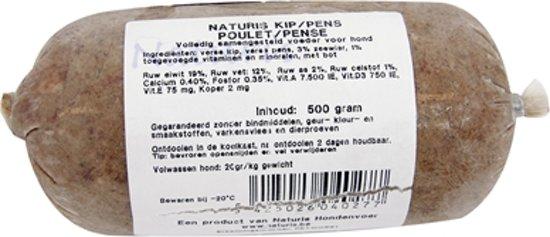 NATURIS KIP/PENS COMPLEET 150 GR