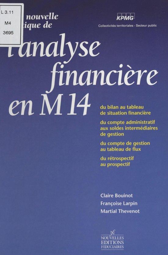 Une nouvelle pratique de l'analyse financière en M14