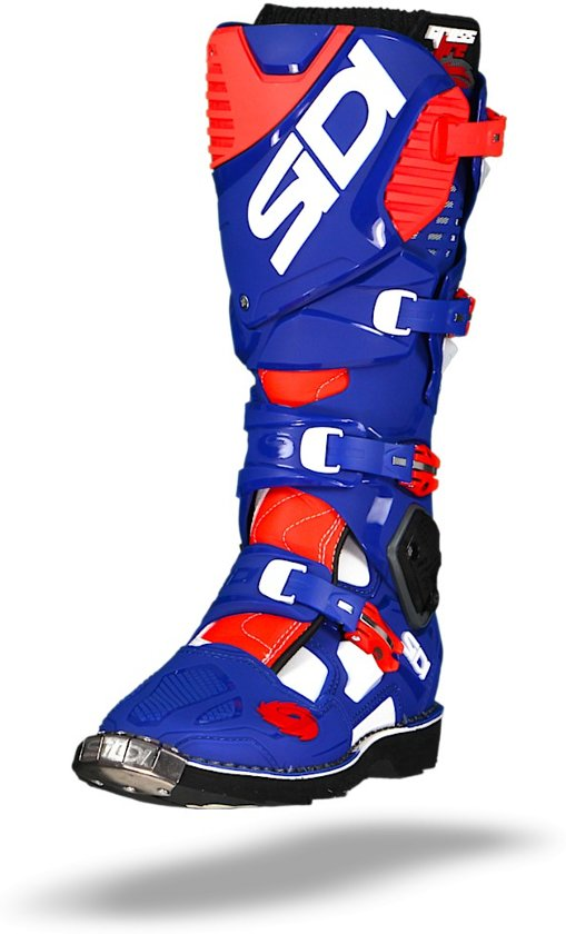 Sidi Crosslaarzen Crossfire 3 Blue/White/Red Fluor-40 (EU)
