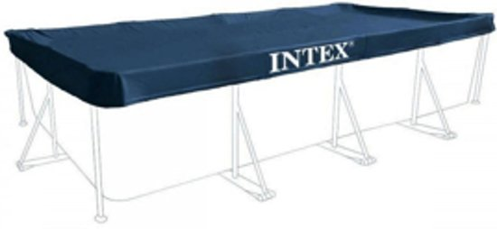 Intex afdekzeil rechthoekig 389x184 centimeter