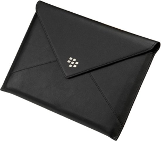 BlackBerry Leather Envelope voor de BlackBerry Playbook - Zwart