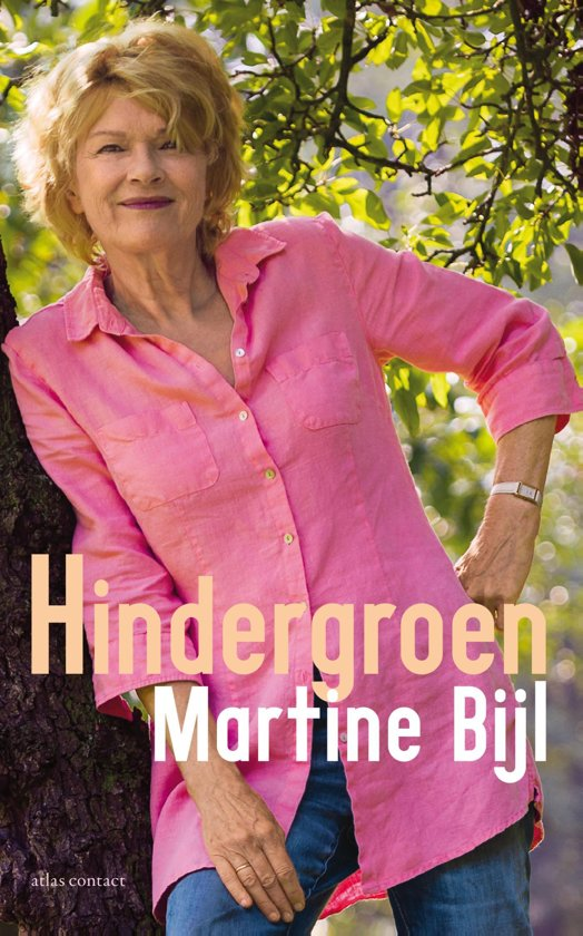 Boek cover Hindergroen van Martine Bijl (Onbekend)