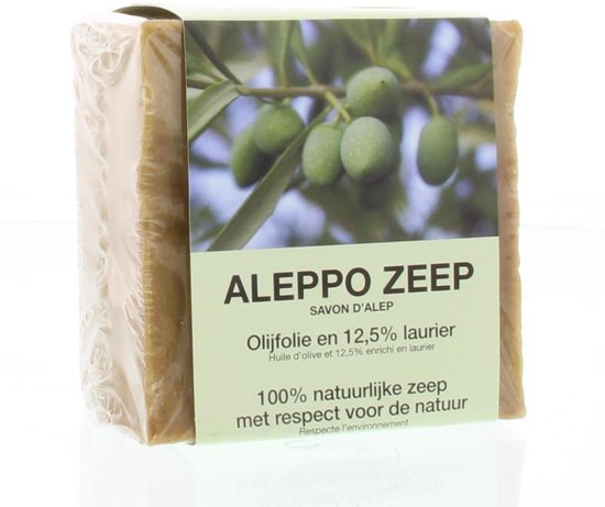 Aleppo Handzeep Aleppo Zeep Olijf en Laurier