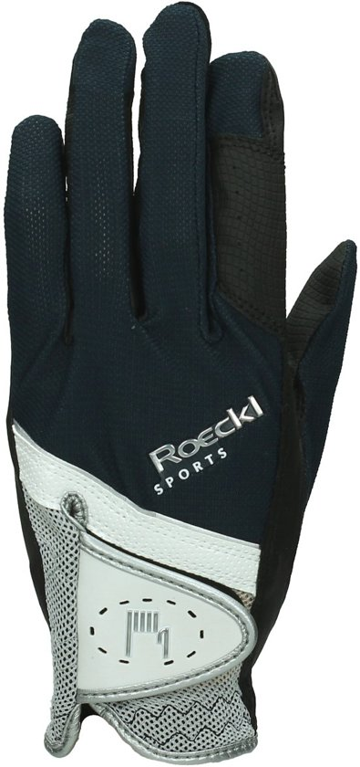 Roeckl Handschoenen  Micro Mesh - Dark Blue-silver - 6.5