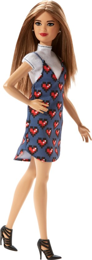 Barbie Fashionistas. Wear Your Heart- Petite - Barbiepop