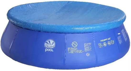 Jilong Zwembad Zwembad afdekzeil Marin 420 cm 401119