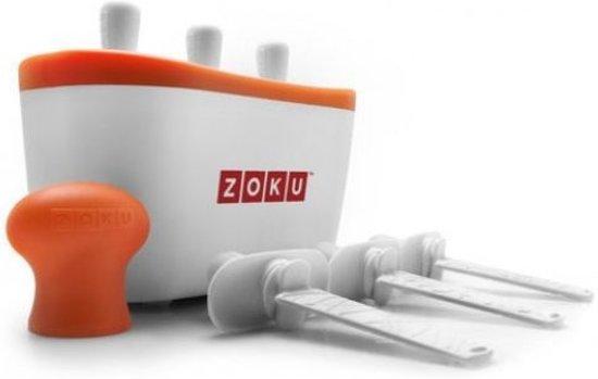 Zoku Quick Popmaker - Trio - Wit/Oranje