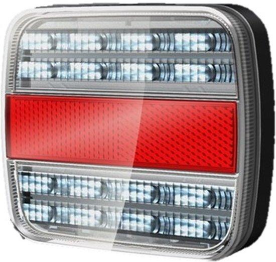 LED achterlicht unit / rem / kenteken / knipperlicht - aanhanger