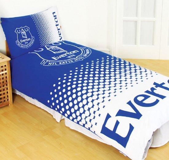 Blauw Wit Dekbedovertrek.Bol Com Everton Dekbedovertrek Blauw Wit Eenpersoons Maat Met