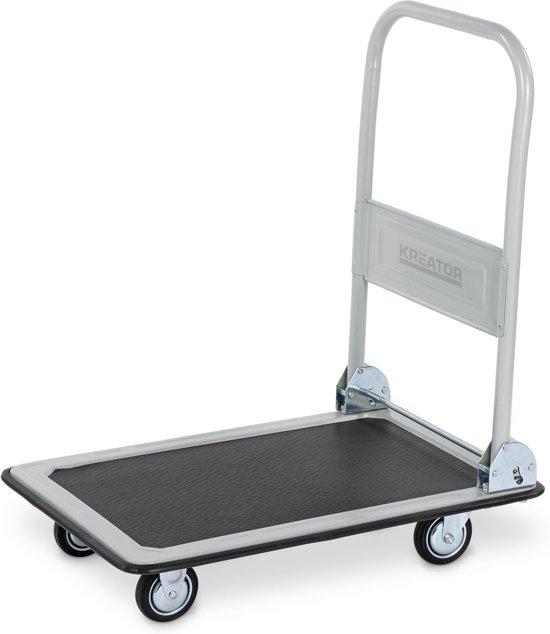 Kreator KRT670101 Opvouwbare transportwagen - 150 kg draagkracht