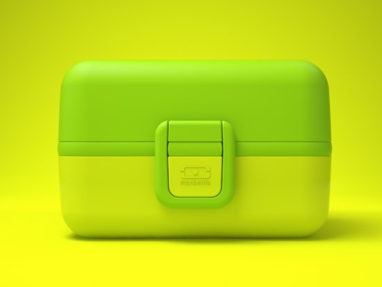 Monbento MB Tresor Lunchbox - Bento Kids - Kiwi