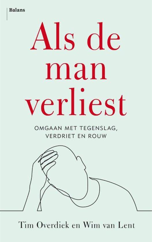 Boek cover Als de man verliest van Tim Overdiek (Paperback)