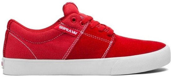 Griffin Mens Supra Sneakers Noir Rouge Taille 40 QrAbQkNOm