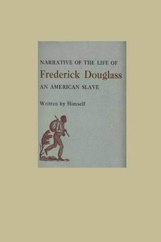 an analysis of the mind of a slave in an american slave by frederick douglass