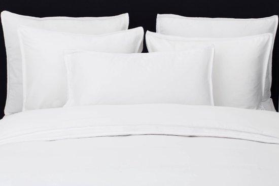 Flamant Home Linen Feston White - Dekbedovertrek - 140 x 200/220 cm - Wit