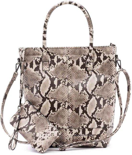 Zebra Trends Natural Bag Kartel Rits python 1