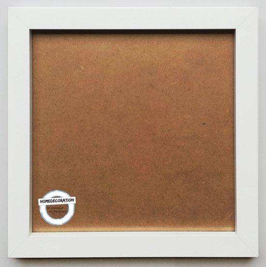 Homedecoration Victoria - Aluminium - fotolijst - Fotomaat - 100x100 cm - wit