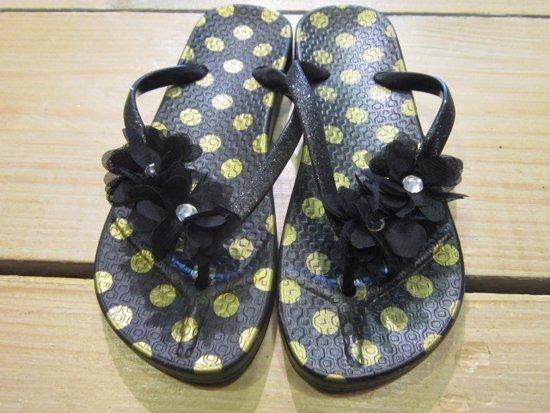e0a5c6748400 Zebra slipper Lady Goud zwart 38 39