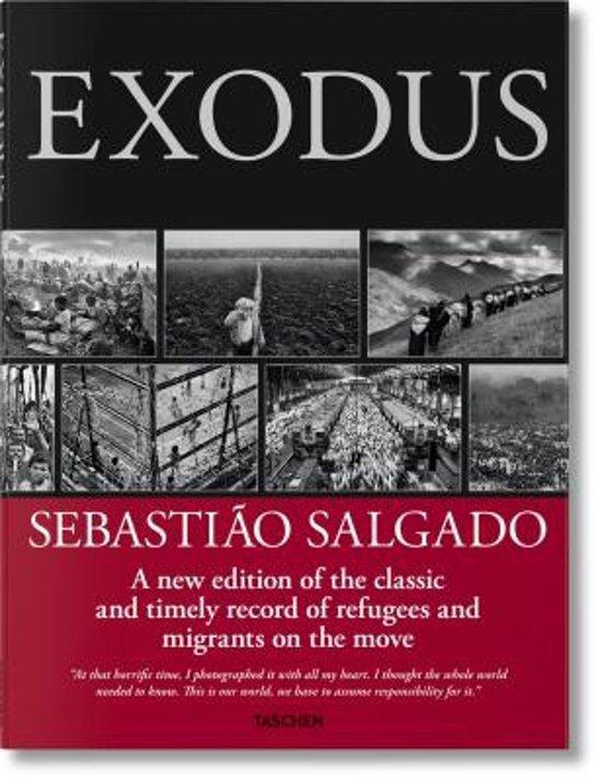 Boek cover Sebastiao Salgado. Exodus van Sebastião Salgado (Hardcover)