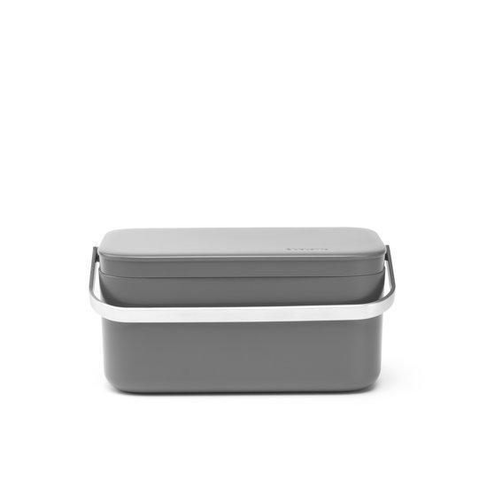 Brabantia Sinkside Aanrecht afvalbakje - 1,8 l - Dark Grey