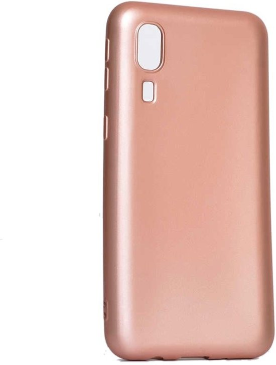 Teleplus Samsung Galaxy A3 Core Luxury Silicone Case Rose Gold hoesje