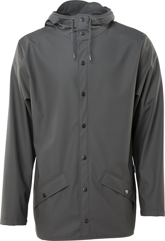 Rains Jacket 1201 Jas - 18 Charcoal