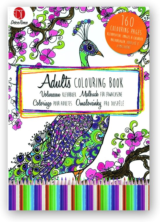 Kleurplaten Voor Volwassenen Tips.Bol Com Kleurboek Voor Volwassenen 160 Pagina S Decotime Speelgoed