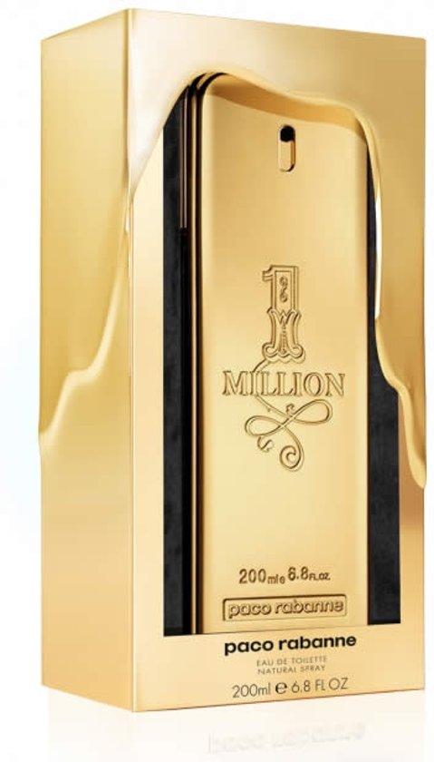 MULTI BUNDEL 2 stuks Paco Rabanne One Million Eau De Toilette Spray 200ml Limited Edition 2019