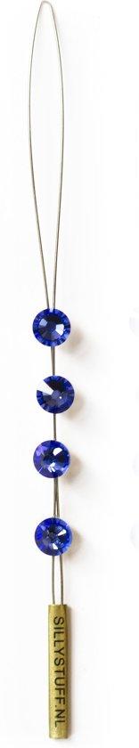 JwelU Haarkristallen BB2-12 Saphire