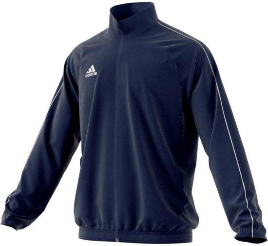 ADIDAS Core 18 Trainingsjack Heren - Blauw - Maat L