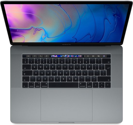 Apple MacBook Pro (2019) Touch Bar MV902FN/A- 15.4 Inch - 256 GB / Spacegrijs - Azerty