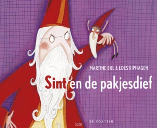 Boek cover Sint en de pakjesdief van Loes Riphagen (Hardcover)