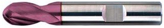 Radiusfrees Type N, schacht HB VHM TiAIN WN, kort, vertanding 2 12,0mm FORMAT