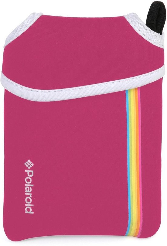 Polaroid Snap Neopreen Case voor Polaroid snap camera's - Roze
