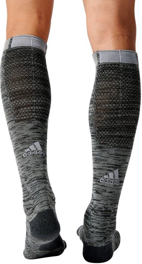 adidas Energy Compression Running Sock Sportsokken - Maat 36-39 - Unisex - grijs Maat 37-39