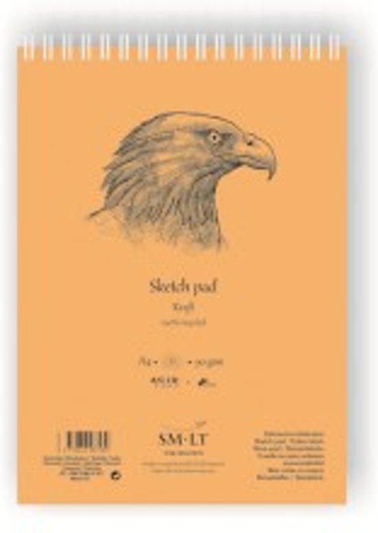 SMLT Schetsblok kraftpapier A4