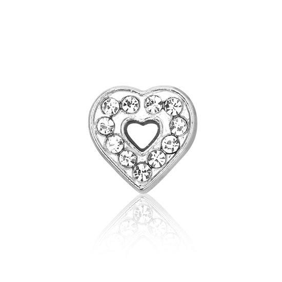 Montebello Bedel Hart K - Dames - Bijoux - Kristal - 12 x 12 mm