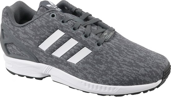 08423d0adfb adidas ZX Flux J BY9833, Vrouwen, Wit, Sneakers maat: 36 EU