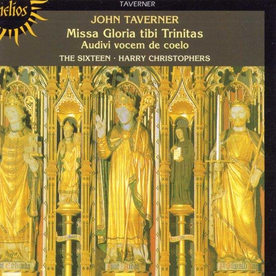 Taverner: Missa Gloria tibi Trinitas / Christophers, Sixteen kopen