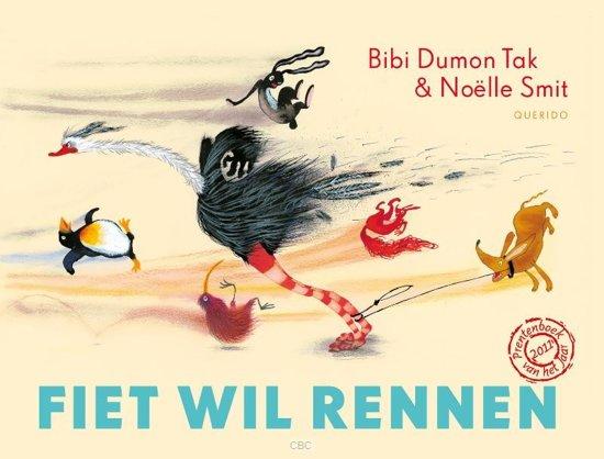 Boek cover Fiet wil rennen van Bibi Dumon Tak (Hardcover)