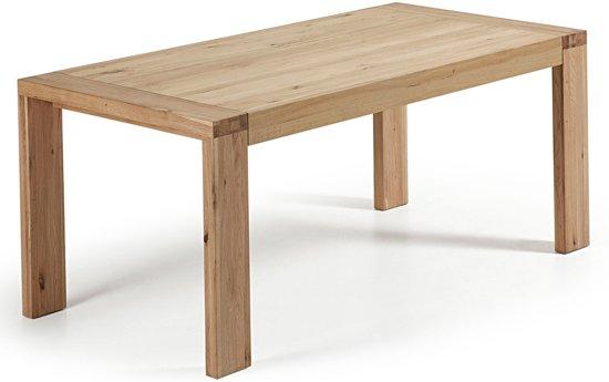Notenhouten Uitschuifbare Eettafel.Bol Com Laforma Uitschuifbare Tafel Viana 200 280 X 100